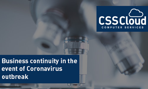 Business continuity in the event of Coronavirus outbreak