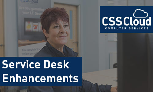 Service Desk Enhancements at CSSCloud